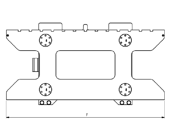 Gaffelvagnsvåg WGT 50 ritning
